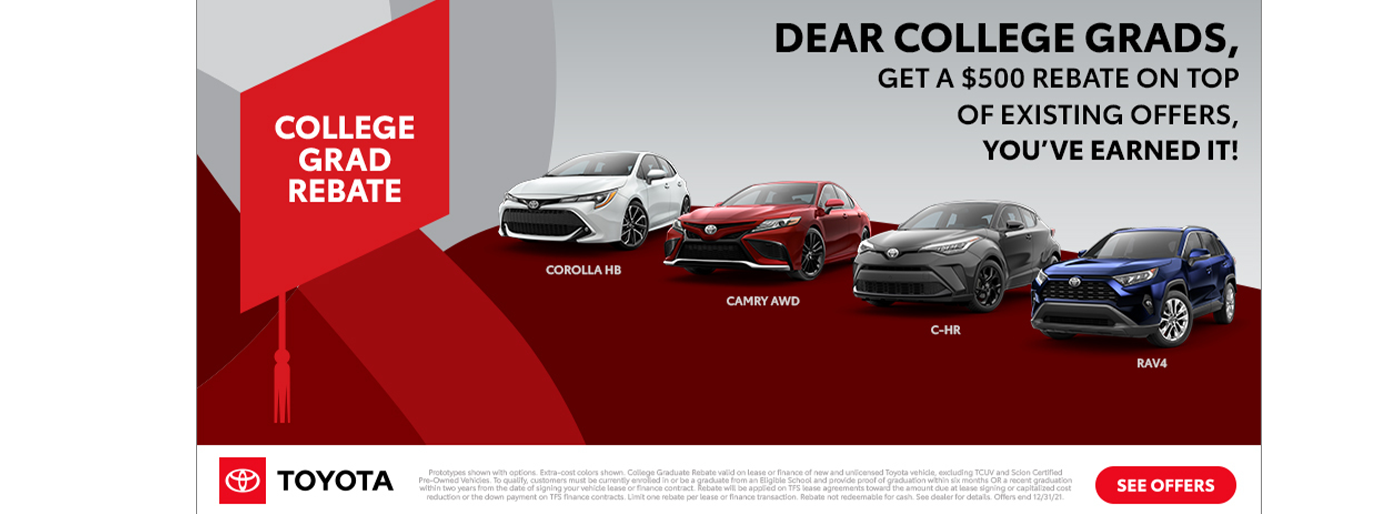 New Monthly Specials at Paul Miller Toyota