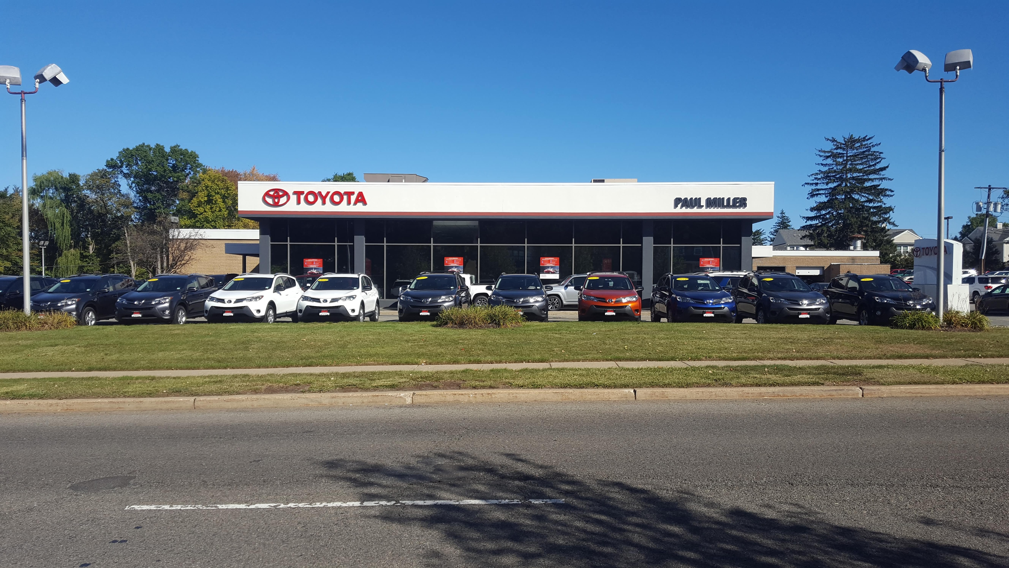 Toyota Dealer Nj >> Nj Toyota Dealer About Paul Miller Toyota Of West Caldwell