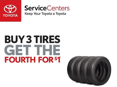 Tires Matched to Your Toyota!