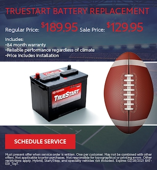 TrueStart Battery Replacement