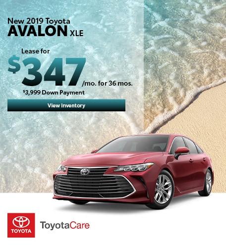 06-2019 Toyota Avalon