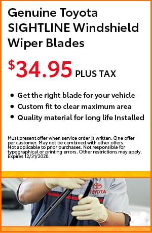 Genuine Toyota SIGHTLINE Windshield Wiper Blades