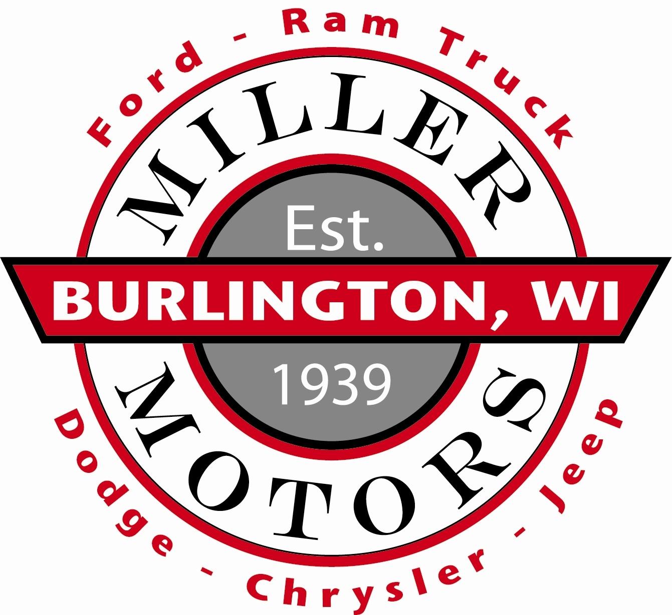 Miller Motors Burlington Wisconsin >> Ford Burlington F 150 Ecosport Edge Escape Or Superduty