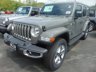 New 2018 Jeep Wrangler UNLIMITED SAHARA 4X4 Sport Utility for sale in Lebanon, NH at Miller Chrysler Jeep Dodge Ram