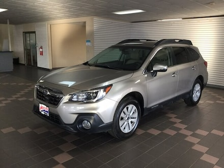 Featured Used 2019 Subaru Outback Premium SUV 4S4BSAFC4K3376630 for Sale in Hermantown MN
