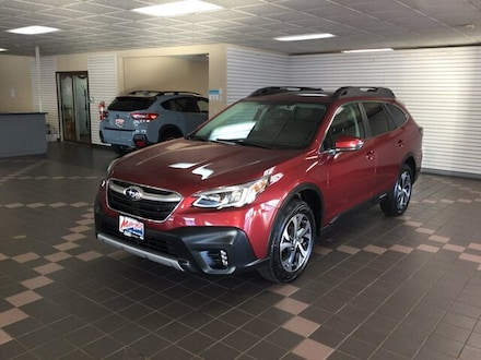 Featured Used 2020 Subaru Outback Limited SUV 4S4BTANC8L3141339 for Sale in Hermantown MN