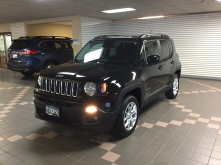 Featured Used 2017 Jeep Renegade Latitude SUV ZACCJBBB7HPG38899 for Sale in Hermantown MN