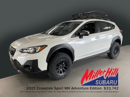 Featured New 2021 Subaru Crosstrek Sport MH Adventure Edition SUV for Sale in Hermantown, MN