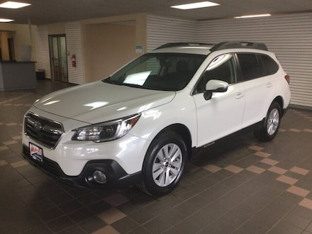 Featured Used 2019 Subaru Outback Premium SUV 4S4BSAFC7K3377903 for Sale in Hermantown MN