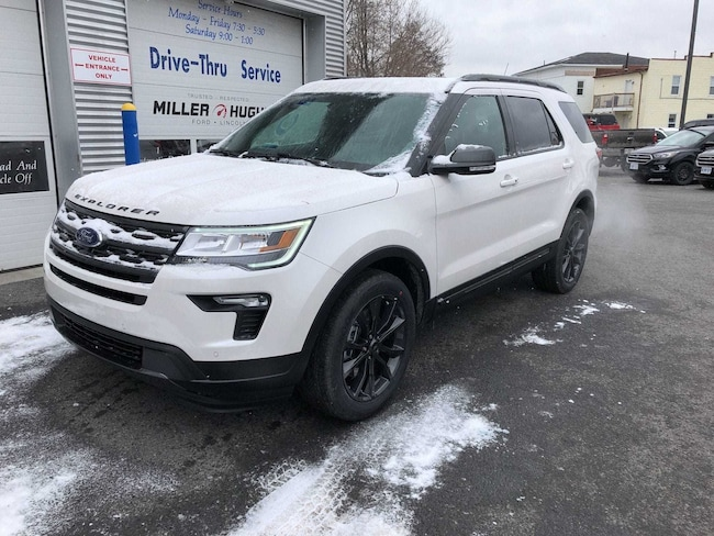 2019 Ford Explorer XLT, Nav, Tow Pkg, Moonroof, Camera SUV 6 Speed Automatic 4WD