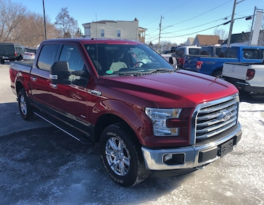 2015 Ford F150 XLT, Tow Pkg, Nav, Sync, Remote Start, Camera CREW PICKUP 6 Speed Automatic 4x4