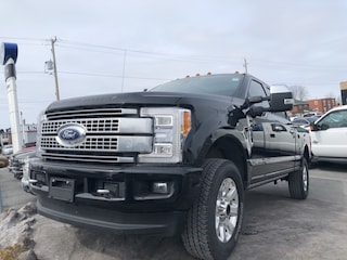 2018 Ford F250 Platinum, Moonroof, Sync3, Camera Crew Cab 6 Speed Automatic 4X4