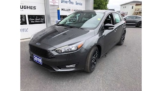 2018 Ford Focus SEL, Htd Steering Wheel, Camera, Power Sunroof Hatchback 6 Speed Automatic FWD