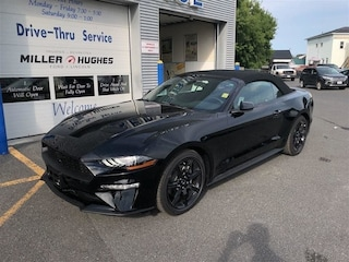 2019 Ford Mustang Nav, Sync, MyKey, Camera, A/C Convertible 10 Speed Automatic RWD