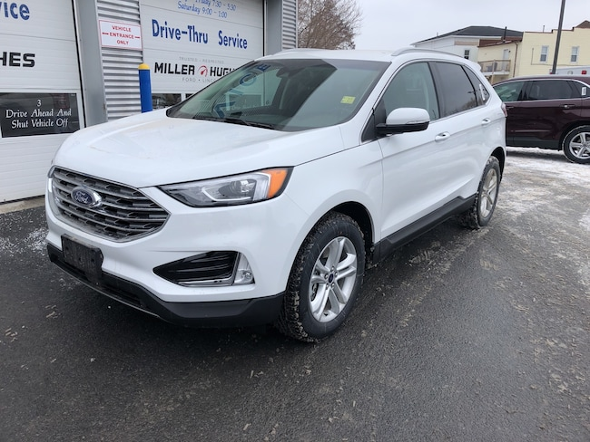 2019 Ford Edge SEL, Pwr LIftgate, Keyless Entry, Nav, Camera SUV 8 Speed Automatic AWD