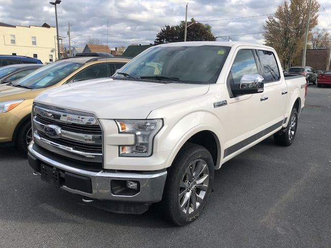 2016 Ford F150 Lariat, Bed Liner, Moonroof, Nav, Sync 3 SUPERCREW 6-Speed Automatic 4x4