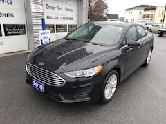 2019 Ford Fusion SE, Nav, Sync 3, Camera, FordPass Sedan 6-Speed Automatic FWD
