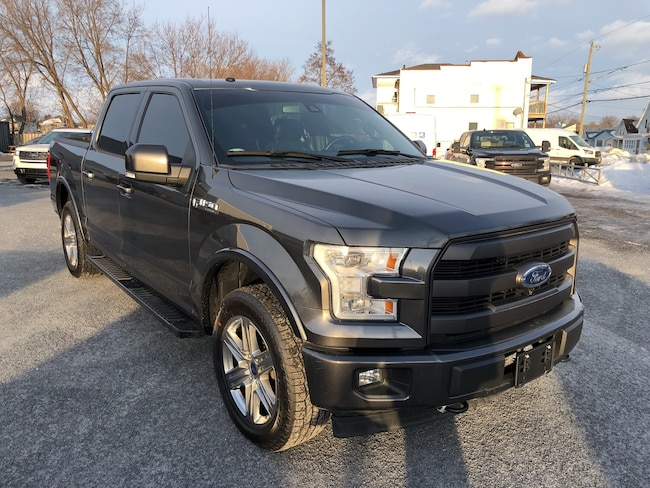 2017 Ford F-150 Lari Tow Pkg, MoonRoof, Camera, Sensors, Sync SUPERCREW 6-Speed Automatic 4X4
