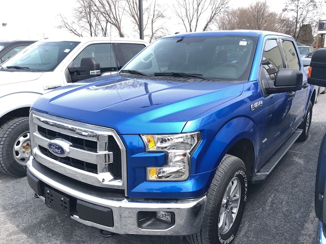 2016 Ford F150 XLT, Tow Pkg, Camera, Sync, Auto Start/Stop SUPERCREW 6-Speed Automatic 4x4