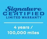 Signature Certified
