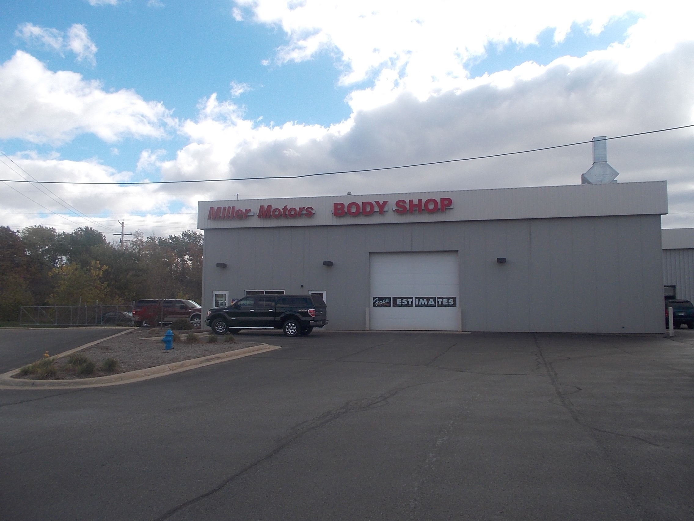Richards Body Shop >> Body Shop Miller Motor Sales