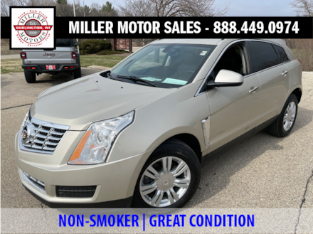 Featured used SUVs, trucks, and cars 2015 Cadillac SRX Base FWD  Base for sale near you in Burlington, WI
