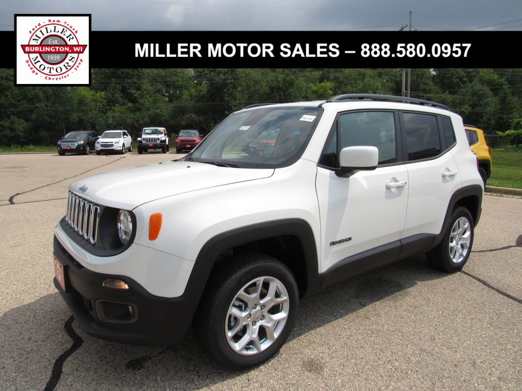 Featured new trucks, cars, and SUVs 2018 Jeep Renegade LATITUDE 4X4 Sport Utility for sale near you in Burlington, WI
