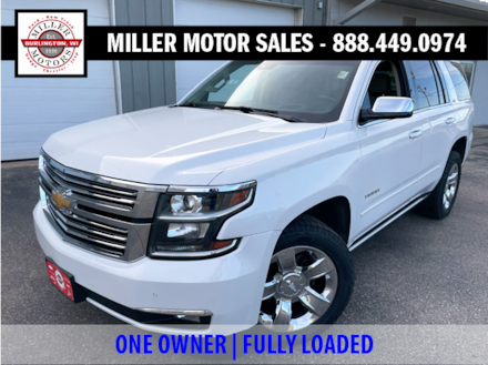 Featured used SUVs, trucks, and cars 2016 Chevrolet Tahoe LTZ SUV for sale near you in Burlington, WI