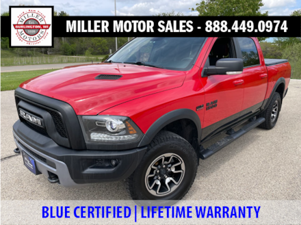 Featured used SUVs, trucks, and cars 2016 Ram 1500 Rebel Truck for sale near you in Burlington, WI