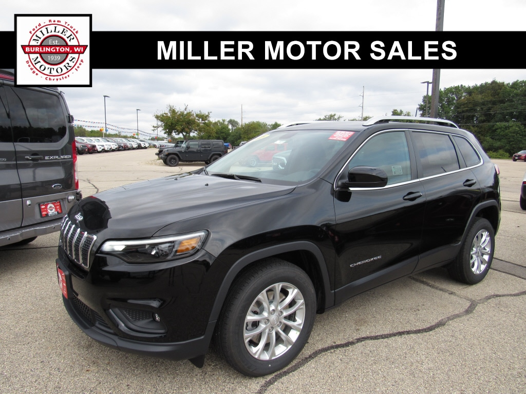 Featured new trucks, cars, and SUVs 2019 Jeep Cherokee LATITUDE FWD Sport Utility for sale near you in Burlington, WI