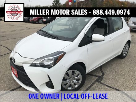 Featured used SUVs, trucks, and cars 2018 Toyota Yaris L Hatchback for sale near you in Burlington, WI