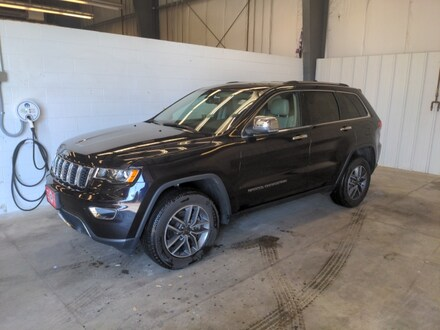 Featured used SUVs, trucks, and cars 2020 Jeep Grand Cherokee Limited Limited 4x4 for sale near you in Burlington, WI