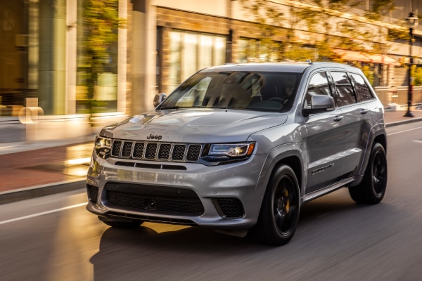 Jeep Grand Cherokee on the street