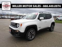 New trucks, SUVs, and cars 2018 Jeep Renegade LATITUDE 4X4 Sport Utility for sale near you in Burlington, WI