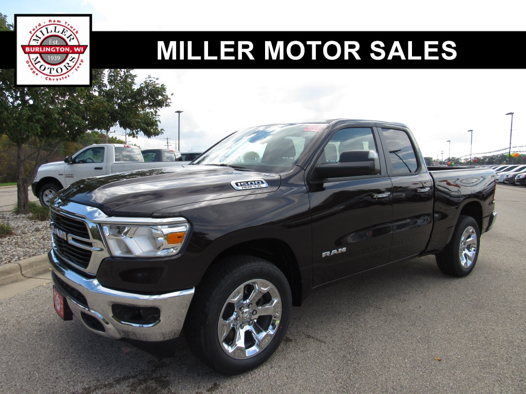 Featured new trucks, cars, and SUVs 2019 Ram All-New 1500 BIG HORN / LONE STAR QUAD CAB 4X4 6'4 BOX Quad Cab for sale near you in Burlington, WI