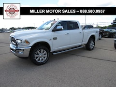New trucks, SUVs, and cars 2018 Ram 2500 LARAMIE LONGHORN CREW CAB 4X4 6'4 BOX Crew Cab for sale near you in Burlington, WI