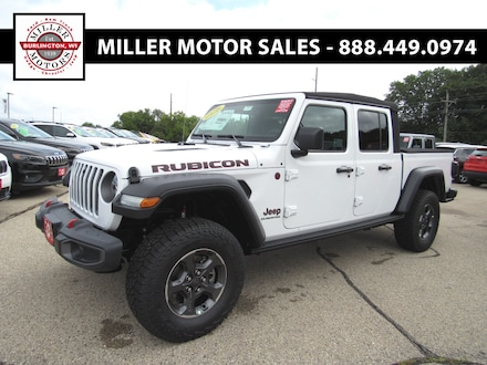 Featured new trucks, cars, and SUVs 2020 Jeep Gladiator RUBICON 4X4 Crew Cab for sale near you in Burlington, WI