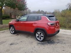 New trucks, SUVs, and cars 2021 Jeep Compass LIMITED 4X4 Sport Utility for sale near you in Burlington, WI