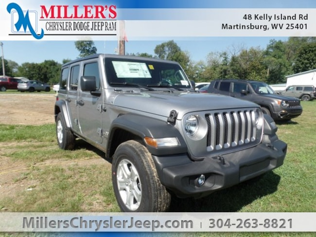 New 2018 Jeep Wrangler UNLIMITED SPORT S 4X4 Sport Utility in Martinsburg