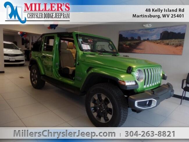 New 2018 Jeep Wrangler UNLIMITED SAHARA 4X4 Sport Utility in Martinsburg