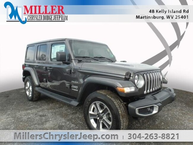 New 2019 Jeep Wrangler UNLIMITED SAHARA 4X4 Sport Utility in Martinsburg