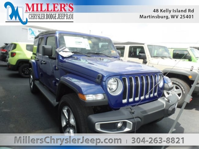 New 2018 Jeep Wrangler UNLIMITED SAHARA 4X4 Sport Utility in Martinsburg