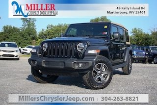 New 2020 Jeep Wrangler UNLIMITED BLACK AND TAN 4X4 Sport Utility for Sale in Martinsburg, WV