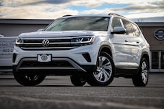 New 2021 Volkswagen Atlas 3.6L V6 SE w/Technology 4MOTION SUV for sale in Lebanon, NH at Miller Volkswagen