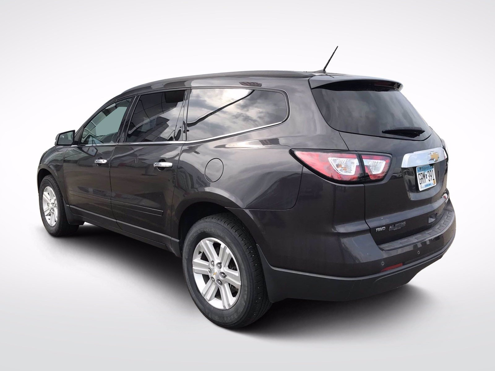 Used 2014 Chevrolet Traverse 2LT with VIN 1GNKVHKD9EJ262391 for sale in Willmar, Minnesota