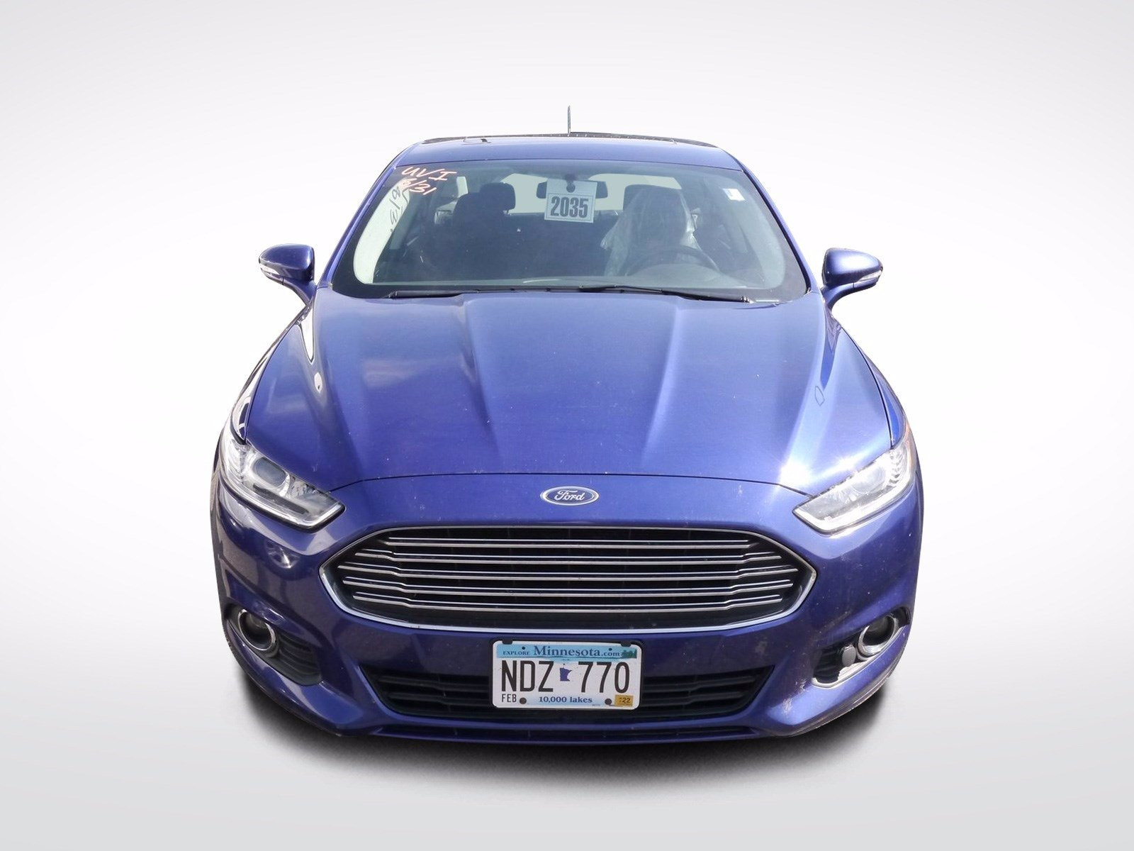 Used 2014 Ford Fusion SE with VIN 3FA6P0H71ER194445 for sale in Baxter, Minnesota