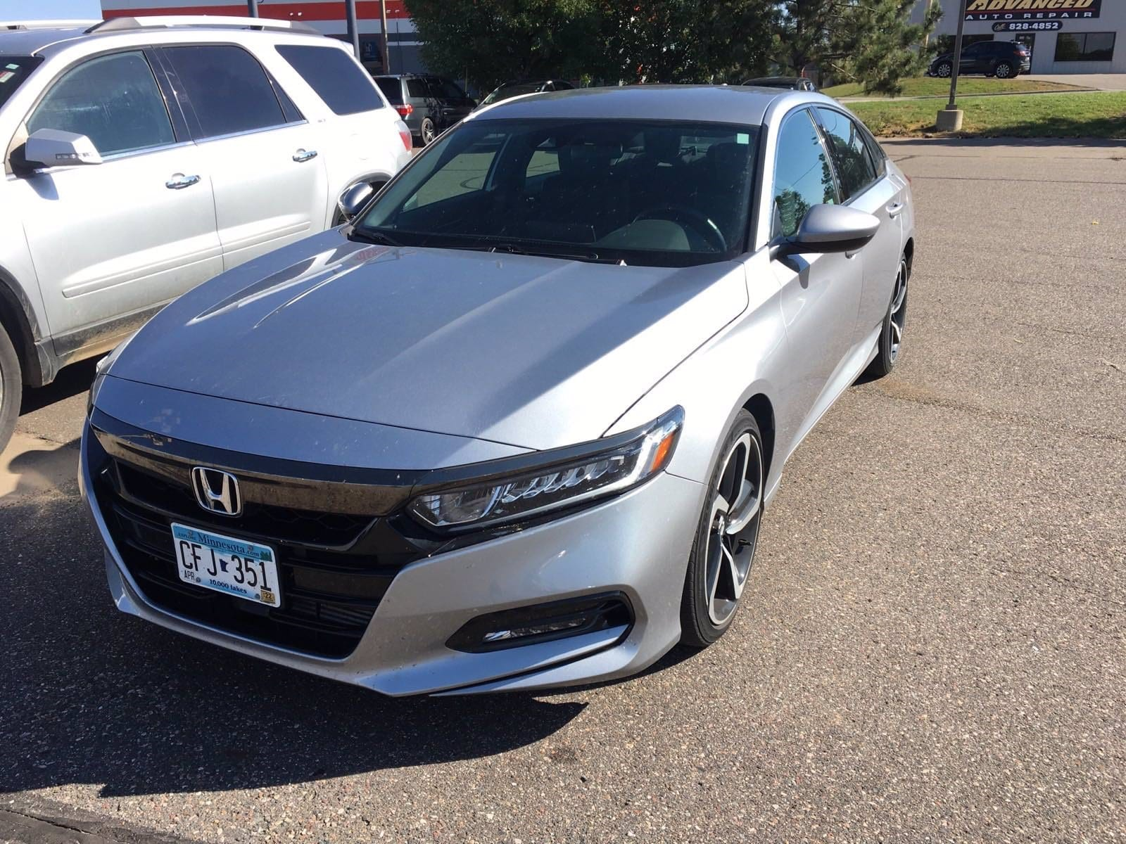 Used 2018 Honda Accord Sport with VIN 1HGCV1F31JA203286 for sale in Baxter, Minnesota