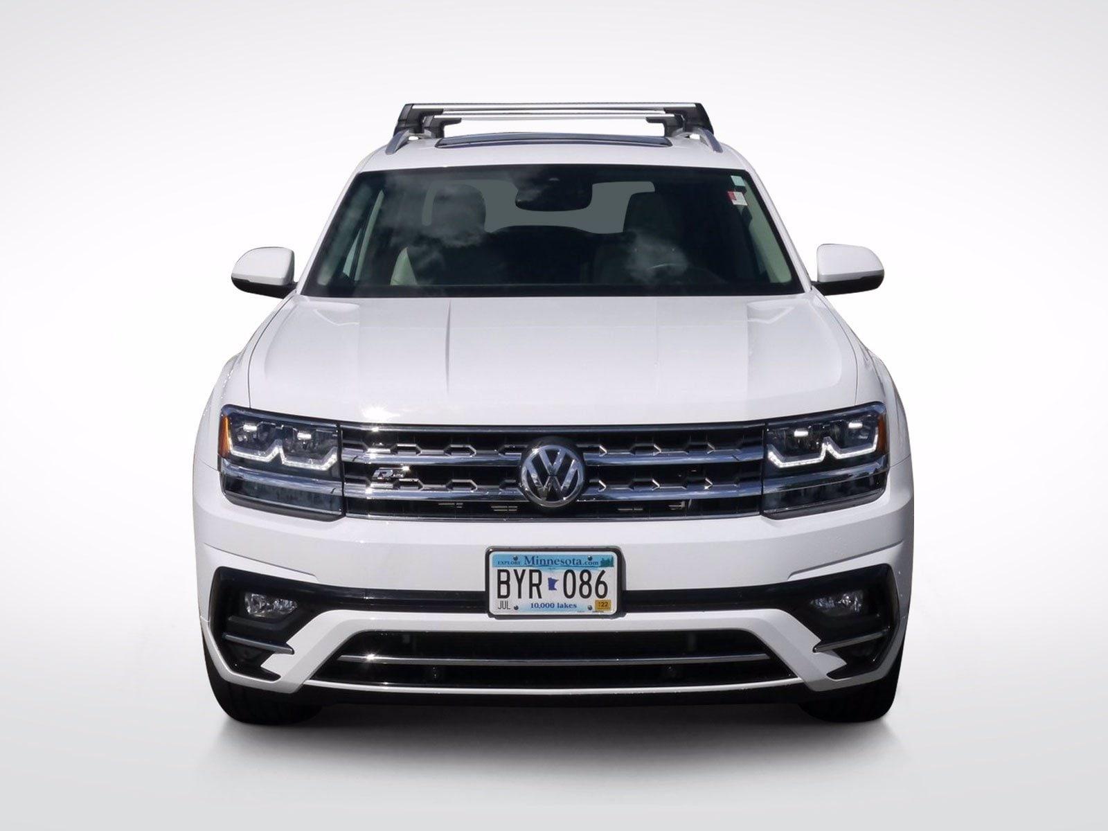 Used 2018 Volkswagen Atlas SEL with VIN 1V2RR2CA6JC584447 for sale in Baxter, Minnesota