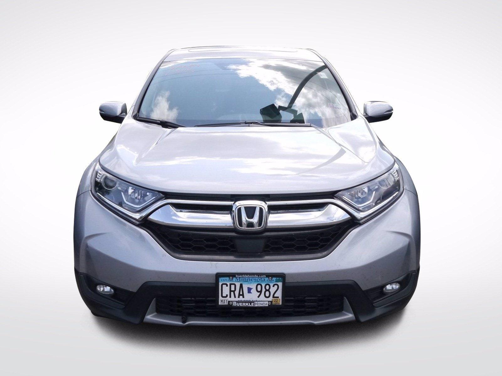 Used 2019 Honda CR-V EX with VIN 5J6RW2H50KA002307 for sale in Baxter, Minnesota
