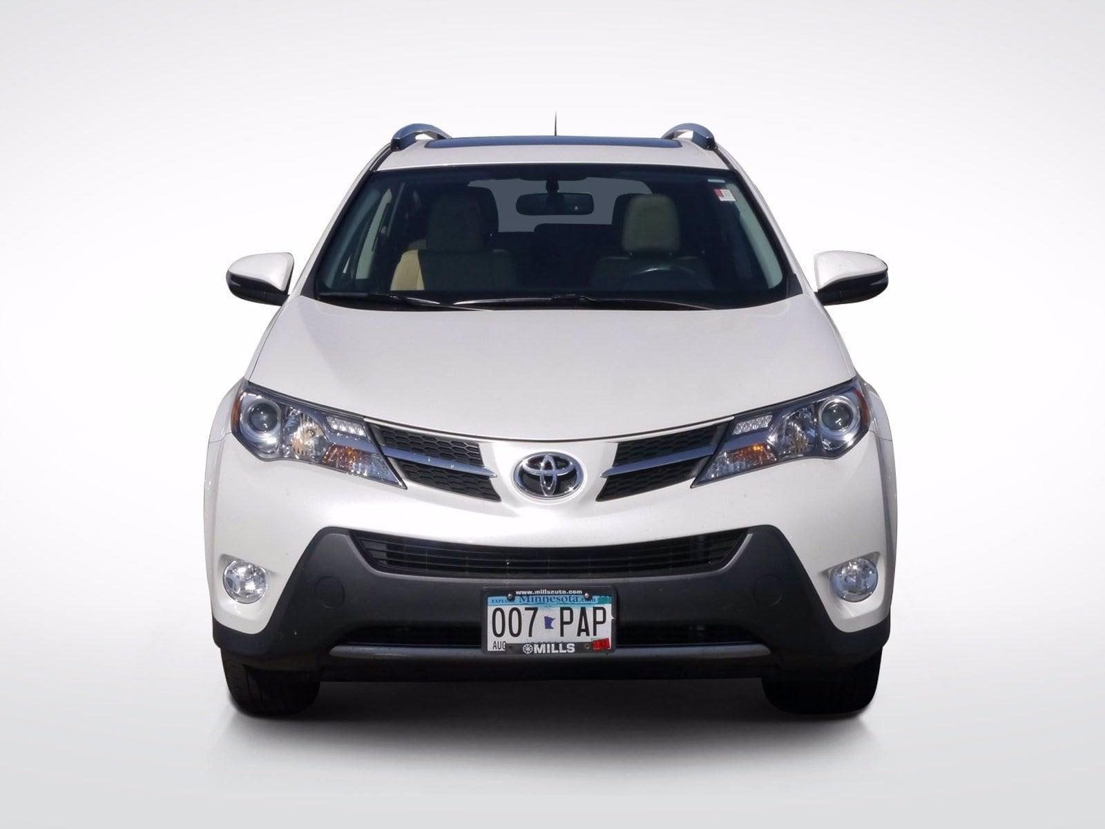 Used 2014 Toyota RAV4 Limited with VIN JTMDFREV5ED085765 for sale in Baxter, Minnesota